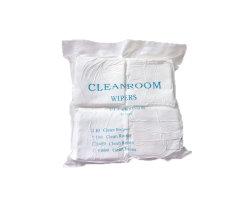 4 pouces moins cher le chiffon de nettoyage Industriel Lingettes pour salle blanche