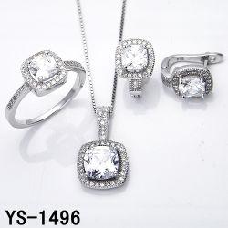 Silbernes Mikro der Diamant-Schmucksache-925 pflastern Einstellung CZ-Set