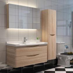 Design moderno estilo country travando MDF Armários de banho personalizada ml-001