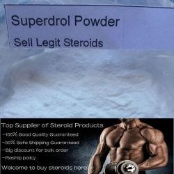 Methyldrostanolone Superdrol 10MG Comprimé oral hormone stéroïde