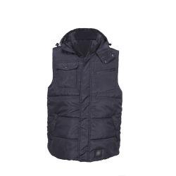 100% Polyester Zakken Padded Work Vest En Waistcoat Voor Werkkleding