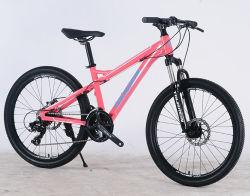 24 26'' подвески из алюминиевого сплава 21 скорости настроенные на горных велосипедах