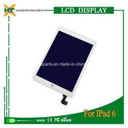 Pièces de réparation de Tablet PC pour l'iPad 2 de l'air écran LCD et écran tactile du numériseur pour iPad 6