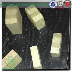 Lame de coupe de pierre diamond diamant Tools-Wanlong inclinés de segments de la liste de prix