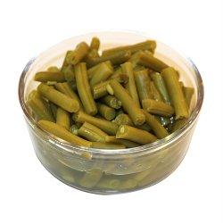 Las conservas de judías verdes con alta calidad