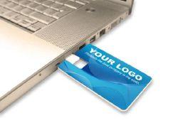 Ultra-thin Card USB Flash Drive met Full Colour Print (EC064)