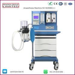 De hoogste Medische Prijs van de Machine van de Anesthesie van het Gebruik van het Ziekenhuis van de Apparatuur Ce/ISO Goedgekeurde met Ventilator