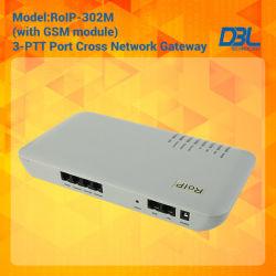 Cross-Network Gateway Radio / VoIP / GSM / Built in Sip Server (RoIP302M)