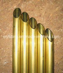 Personalizados de alta qualidade H62, H65, H70, H80 tubo de latão de alumínio/ Tubo de latão para a protecção da bomba de poços de petróleo, o destilador, Marine, a Energia Nuclear Heat-Exchanger
