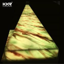 Corian für Dekoration-materiellen lichtdurchlässigen festen Lageplan-lichtdurchlässigen Stein