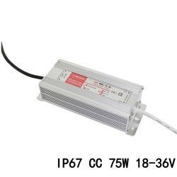 مصدر طاقة مستمر من نوع LED للتيار المستمر بقوة 75W 2A 18-36VDC IP67