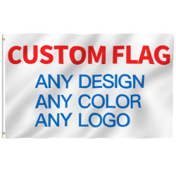 Große im Freiendie Staatsflagge des Großverkauf-3X5FT alles Land fertigen preiswerte Preis-Markierungsfahnen kundenspezifisch an