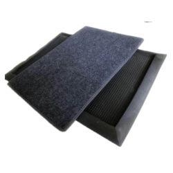 Custom ПВХ резиновые дезинфекции стерилизованные двери коврик на полу коврик двери магазин домашняя кухня дверца элеватора коврик