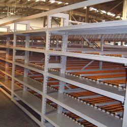 Cremagliera industriale di flusso della scatola del magazzino di memoria delle mensole di rotolamento di FIFO Nanjing con Ce