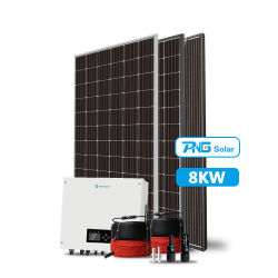 3kw 5kw 8kw 10kw 12kw 15kw Solar Energyシステム格子タイ