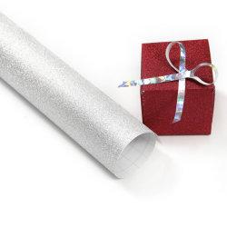El color de la fábrica de PVC de vinilo Glitter de PP Rollo de papel Rollo Decoración