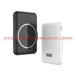 5000mAh ポータブルミニマグネチックワイヤレスパワーバンク用充電器 MagSafe iPhone 12 の機能