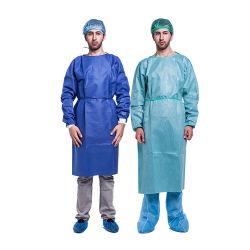 Best Selling vestido cirúrgico reforçada estéril descartável para o Nível 2