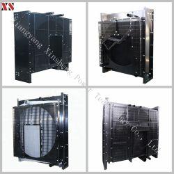 Grupo Electrógeno Cummins Diesel Motor piezas de repuesto Tanque de agua/ Water-Cooling radiador para 4B/6B/6B/6L/Kta19/Kta38/Nt855/Kta50/MTA11