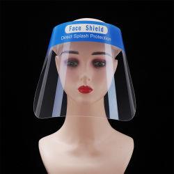 Sicherheits-volles Gesichts-Schild-Schablonen-transparenter Haustier-Plastik