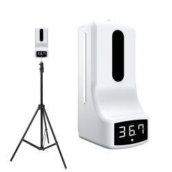 K9 Thermomètre Distributeur de savon automatique des bouteilles pour le corps de la mesure de température de liquide de lavage 1000ml