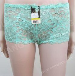 الجملة رخيصة السيدات بانيس الملابس الداخلية المثيرة Lace Lingerie تخفيضات ساخنة ملخصات الملابس أزياء بيكيني مخصص طباعة النساء الملاكم
