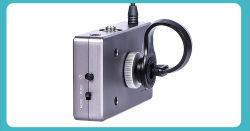 La banda UHF DSLR, cámara CCTV Studio Entrevista micrófono para grabación de vídeo.