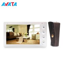 4 ha collegato il video telefono elettricamente poco costoso bidirezionale del portello del citofono video con visione notturna