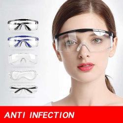 반대로 안개 고글 눈 방어적인 Eyewear PPE 장비 안전 유리