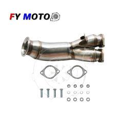 Para a BMW 335i 335XI 2011-2012 E90 E92 N55 N54 Aço Inoxidável Saída do Turbo