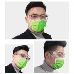 Vento Splash personalizado transparente protetora de plástico descartáveis de segurança criança Safeti Lab Proteger Anti - proteção UV equipar os óculos polarizados