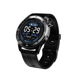 حزام سيليكون بتقنية Smart Bracelet مقاوم للمياه F20 SmartWatch NFC شاشة دائرية كاملة