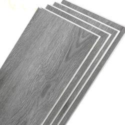 Водонепроницаемый гладкий черный Marquina деревянные конструкции Spc виниловый пол