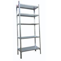 Estanterías de ángulo ranurado Post con pernos y tuercas para Coolroom