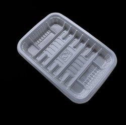 PP/PET/PVC 케이크 또는 과일 또는 식물성 포장을%s 플라스틱 음식 쟁반