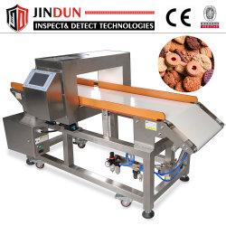 Cinta transportadora Auto Detector de Metales de alimentos productos envasados de lámina de aluminio