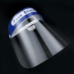 工場卸し売り表面保護盾マスクのプラスチック盾が付いているプラスチックハンドシールドのハンドシールドマスク