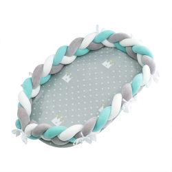 赤ん坊のネストのベッドのまぐさ桶子供の幼児のための携帯用旅行ベッドは綿の受け台をからかう