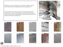 Пленка ПВХ торговой марки Yiyue усугубляет нержавеющая сталь Сталь для ламината бытовой электроприбор