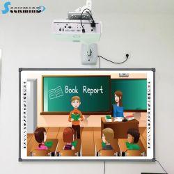 Интеллектуальные интерактивные доски интеллектуальный цифровой белое стекло плата сенсорной базы цифровых видение индуктивные технологии