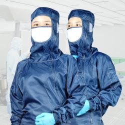 Venta caliente ESD antiestática Cleanroom Smock uniforme para electricidad