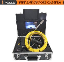 Tuyau d'inspection de la caméra de vidéosurveillance d'égout HD 720p 7'' l'écran avec 20-50 m/ DVR (facultatif)