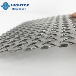 Edelstahl quetschverbundenes Metallineinander greifen-dekoratives Ineinander greifen für Tür