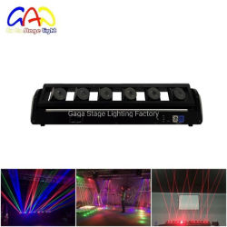 DMX movendo cabeça Barra Laser Luz para efeito de palco DJ Club