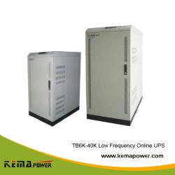 Tb30kVA Industrial de baja frecuencia inversor UPS en línea solar cargador de copia de seguridad