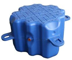 Pontón flotante de plástico para el dique flotante de la plataforma flotante y embarcadero flotante