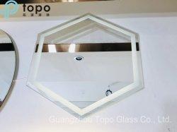 Lumière LED anti brouillard moderne miroir pour Make-up (MR-TP001)