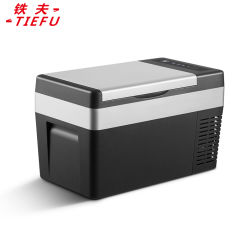 C25W facile opérer 12V Portable voiture réfrigérateur / congélateur pour le camping