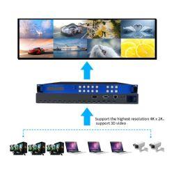 Bitvisus HDMI 9 Video der Kanal-volldigitales Matrix-Rangierlok-3D 4K x 2K mit leistungsfähiger Speicherfunktion