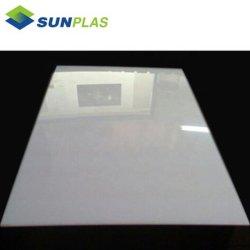 4FT*8FTのサイズの白い印刷のためのコロナによって扱われるABSシート